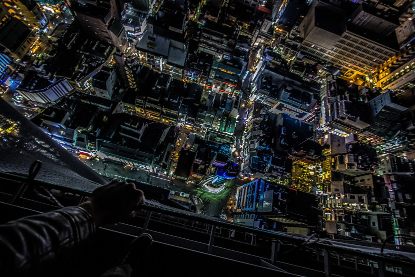 Tokyo Rooftopping: Construction Site – Japan